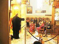 Στην εκκλησία του ΑγίουΓεωργίου